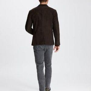 John Varvatos Mens Calfskin Jacket